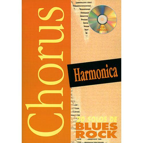 PLAY MUSIC PUBLISHING GOWLAND MOX - CHORUS 20 SOLOS DE BLUES + CD - HARMONICA