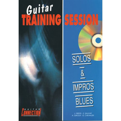 PLAY MUSIC PUBLISHING SOLOS & IMPROS BLUES + CD - GUITARE TAB