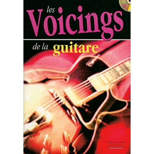PLAY MUSIC PUBLISHING SEBASTIAN DEREK - VOICINGS DE LA GUITARE + CD - GUITARE TAB