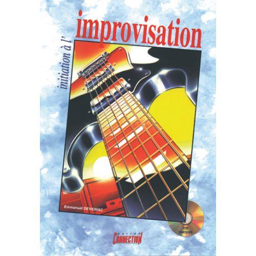 PLAY MUSIC PUBLISHING DEVIGNAC EMMANUEL - INITIATION A L'IMPROVISATION + CD - GUITARE TAB