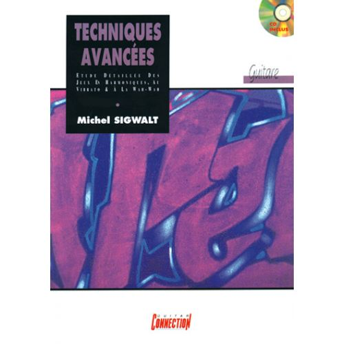 PLAY MUSIC PUBLISHING SIGWALT MICHEL - TECHNIQUES AVANCEES + CD - GUITARE TAB