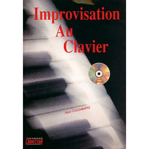 PLAY MUSIC PUBLISHING COLOMBATTO - IMPROVISATION AU CLAVIER + CD