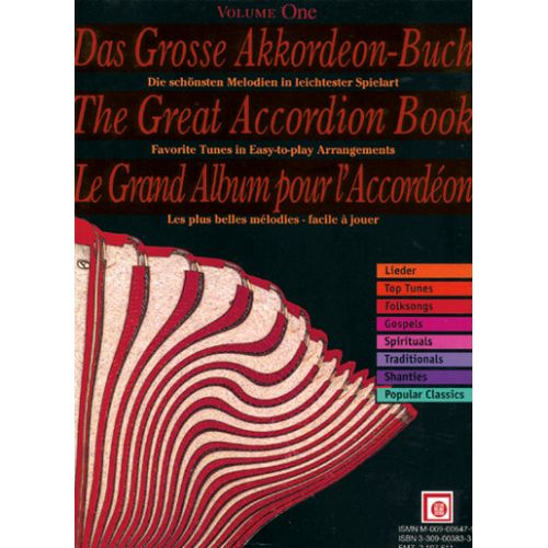 MELODIE ZUERICH GRAND ALBUM VOL. 1 - ACCORDEON