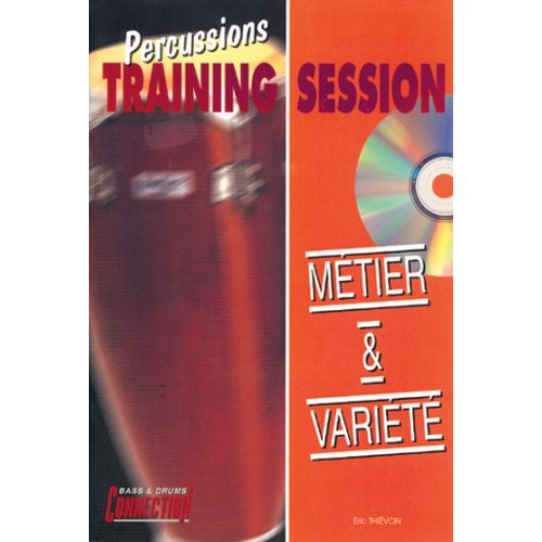 PLAY MUSIC PUBLISHING THIEVON ERIC - METIER & VARIETE + CD - PERCUSSIONS