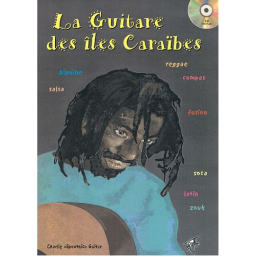 PLAY MUSIC PUBLISHING SPOOTNIC C. - GUITARE DES ILES CARAIBES + CD - GUITARE
