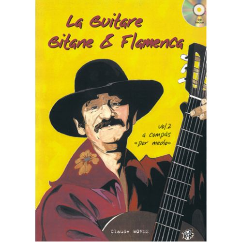 PLAY MUSIC PUBLISHING WORMS CLAUDE - GUITARE GITANE & FLAMENCA + CD, VOL.2 - GUITARE TAB