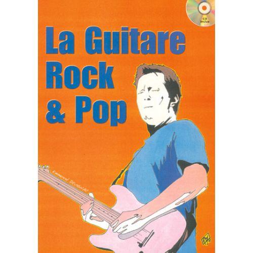 PLAY MUSIC PUBLISHING DEVIGNAC EMMANUEL - GUITARE ROCK & POP + CD - GUITARE TAB