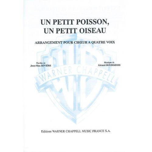 CARISCH RIVIERE-BOURGEOIS - PETIT POISSON, UN PETIT OISEAU - PIANO, CHANT