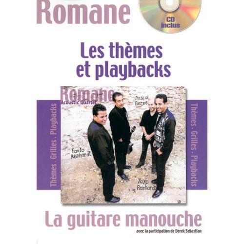 PLAY MUSIC PUBLISHING ROMANE - GUITARE MANOUCHE - THÈMES ET PLAYBACKS + CD