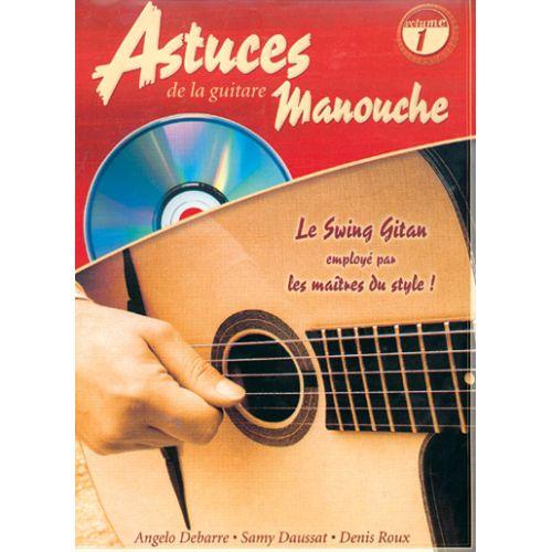 COUP DE POUCE ROUX & DAUSSAT - ASTUCES DE LA GUITARE MANOUCHE VOL.1 + CD