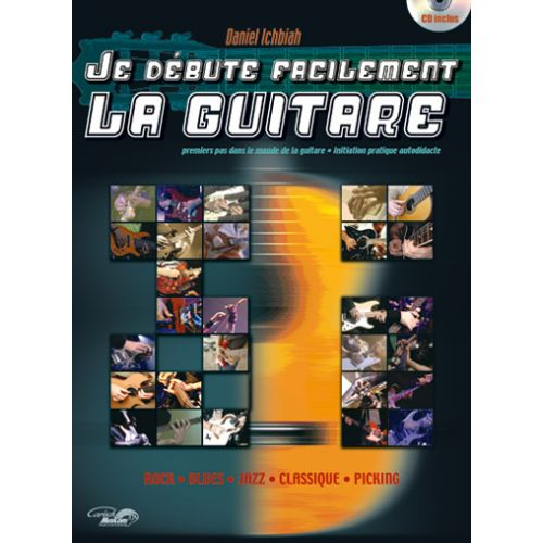 CARISCH ICHBIAH D. - JE DEBUTE FACILEMENT + CD - GUITARE