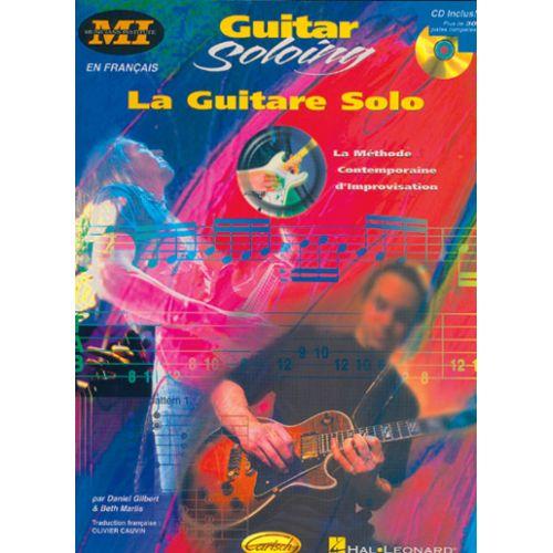 CARISCH GILBERT & MARLIS - GUITARE SOLO + CD - GUITARE