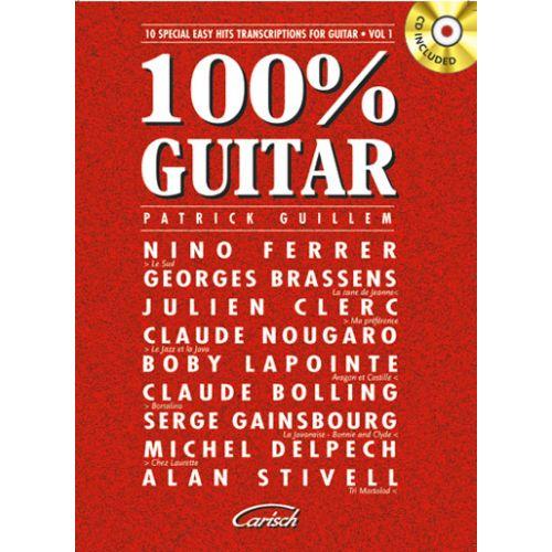 CARISCH 100% GUITAR VOL.1 + CD
