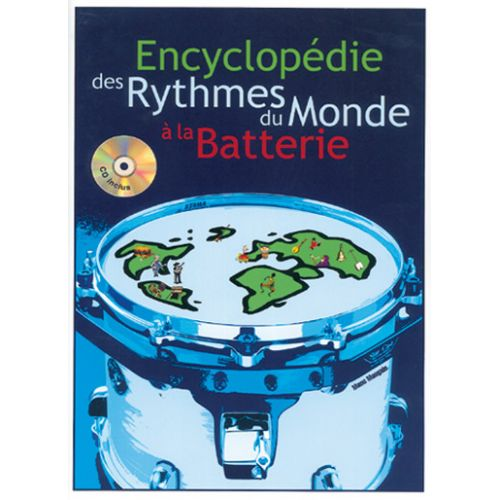 PLAY MUSIC PUBLISHING MAUGAIN M. - ENCYCLOPEDIE RYTHMES BATTERIE + CD - BATTERIE