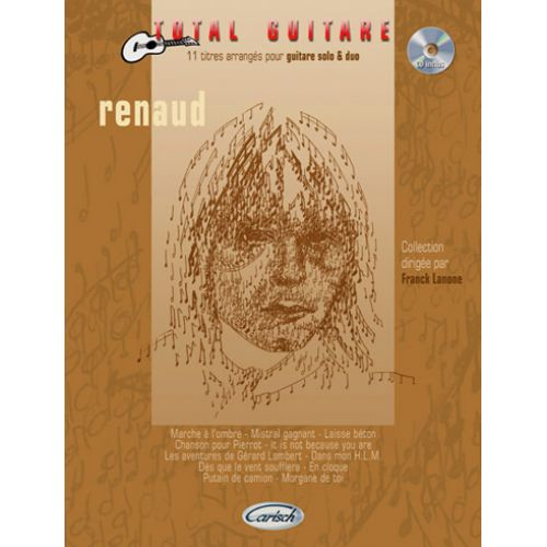 CARISCH RENAUD - COLLECTION TOTAL GUITARE + CD - GUITARE