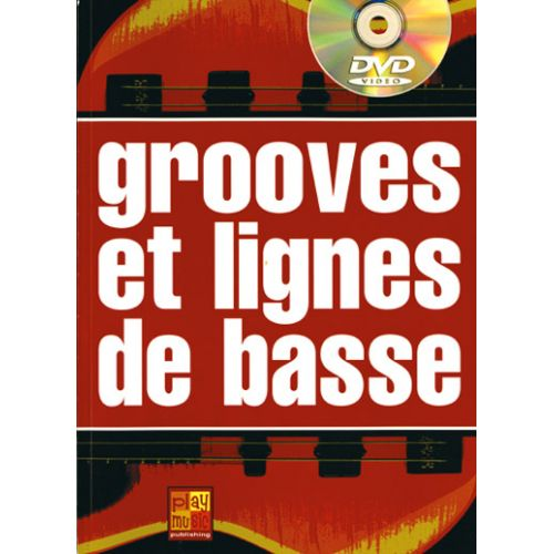 PLAY MUSIC PUBLISHING SARFATI PASCAL - GROOVES & LIGNES DE BASSE + DVD - BASSE