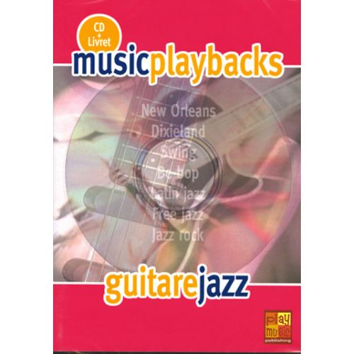 PLAY MUSIC PUBLISHING GUITARE JAZZ + CD - GUITARE