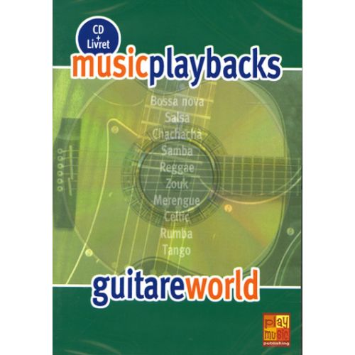 PLAY MUSIC PUBLISHING GUITARE WORLD + CD - GUITARE