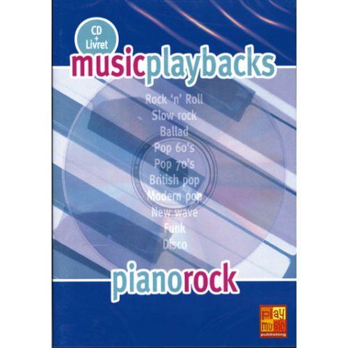 PLAY MUSIC PUBLISHING PIANO ROCK + CD - PIANO