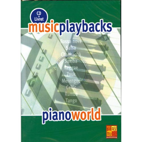 PLAY MUSIC PUBLISHING PIANO WORLD + CD - PIANO
