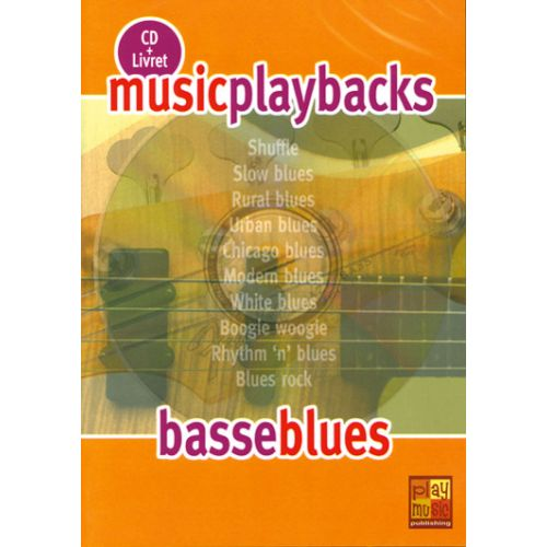 PLAY MUSIC PUBLISHING BASSE BLUES + CD - BASSE