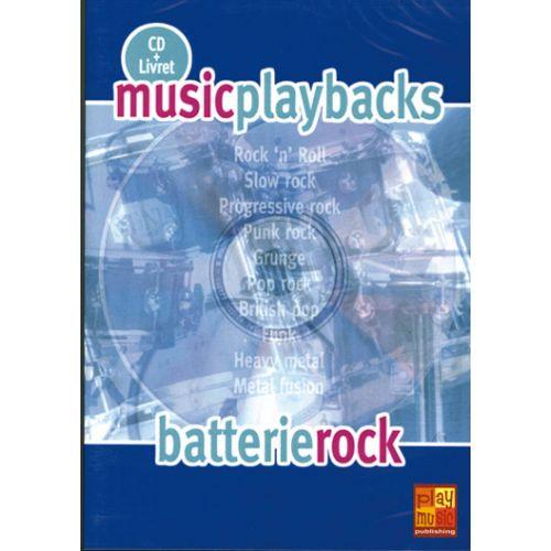 PLAY MUSIC PUBLISHING BATTERIE ROCK + CD - BATTERIE
