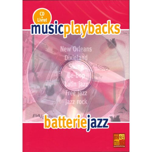 PLAY MUSIC PUBLISHING BATTERIE JAZZ + CD - BATTERIE
