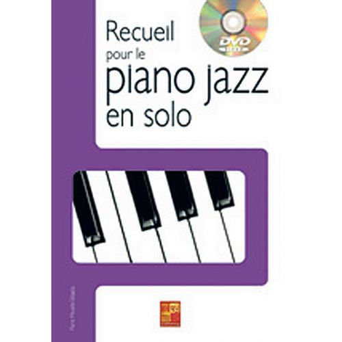 PLAY MUSIC PUBLISHING MINVIELLE-SEBASTIA P. - RECUEIL POUR LE PIANO JAZZ EN SOLO + DVD
