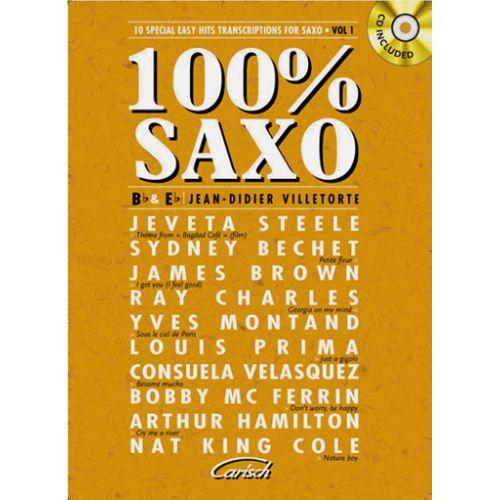 CARISCH 100% SAXO VOL.1 +CD