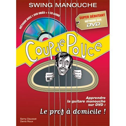 COUP DE POUCE ROUX & DAUSSAT - GUITARE SWING MANOUCHE + DVD + CD