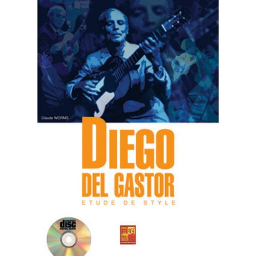 PLAY MUSIC PUBLISHING GASTOR DIEGO DEL - ETUDE DE STYLE + CD - GUITARE