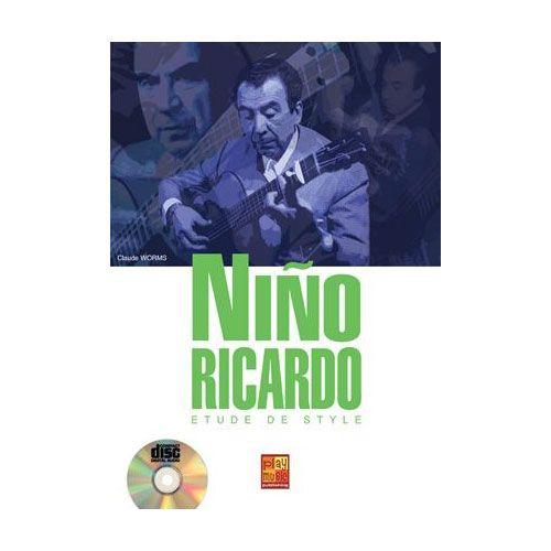 PLAY MUSIC PUBLISHING WORMS CLAUDE - ETUDE DE STYLE NINO RICARDO + CD