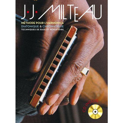 BOOKMAKERS INTERNATIONAL MILTEAU J.J. - METHODE POUR L'HARMONICA + CD
