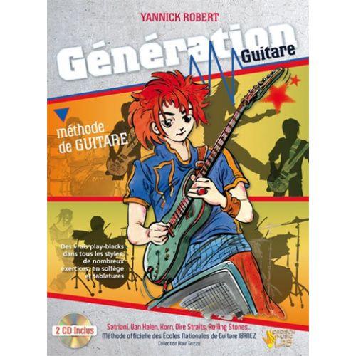 CARISCH ROBERT YANNICK - GENERATION GUITARE
