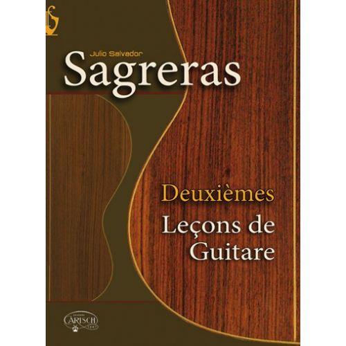 CARISCH SAGRERAS J.S. - DEUXIEMES LECONS DE GUITARE