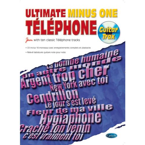 CARISCH TELEPHONE - ULTIMATE MINUS ONE GUITAR TRAX + CD