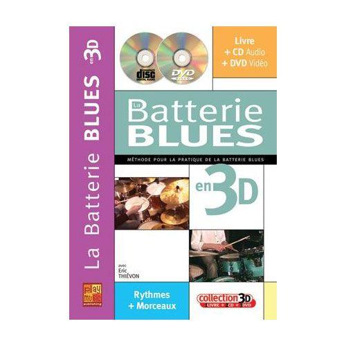 PLAY MUSIC PUBLISHING THIEVON ERIC - LA BATTERIE BLUES - CD + DVD