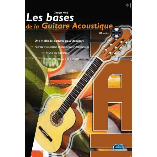 carisch wolf georg les bases de la guitare acoustique cd. Black Bedroom Furniture Sets. Home Design Ideas