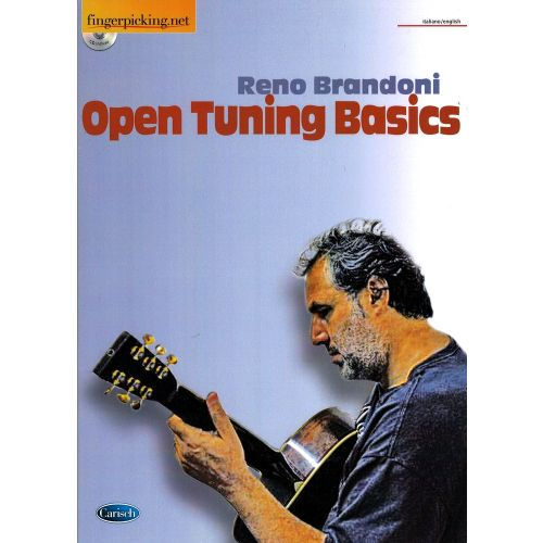 CARISCH BRANDONI RENO - OPEN TUNINGS BASICS + CD - GUITARE