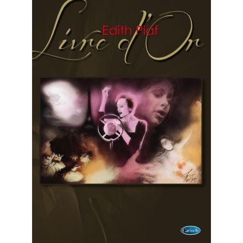 CARISCH PIAF EDITH - LIVRE D'OR - PIANO, CHANT