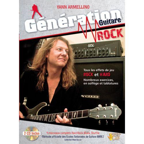 CARISCH ARMELLINO YANN - GENERATION GUITARE ROCK - GUITARE