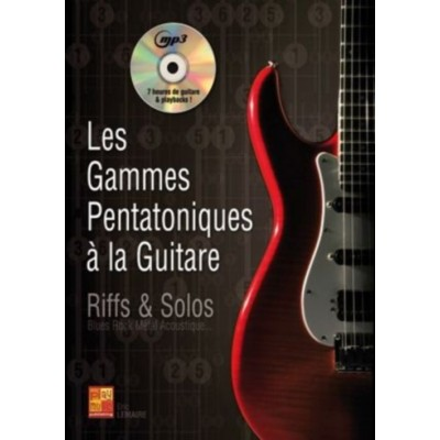 PLAY MUSIC PUBLISHING LEMAIRE ERIC - LES GAMMES PENTATONIQUES A LA GUITARE + CD