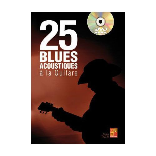 PLAY MUSIC PUBLISHING BRAIN THOMAS - 25 BLUES ACOUSTIQUES A LA GUITARE + DVD