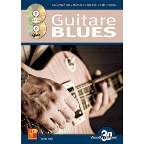 CARISCH TAUZIN BRUNO - LA GUITARE BLUES EN 3D CD + DVD
