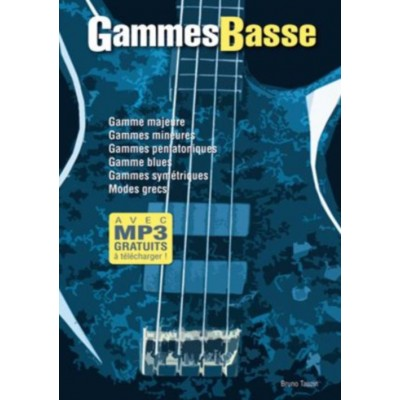 PLAY MUSIC PUBLISHING TAUZIN B. - GAMMES BASSE