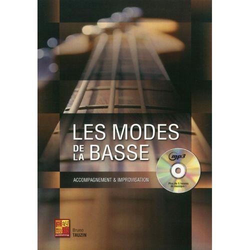 PLAY MUSIC PUBLISHING TAUZIN BRUNO - LES MODES POUR LA BASSE + CD