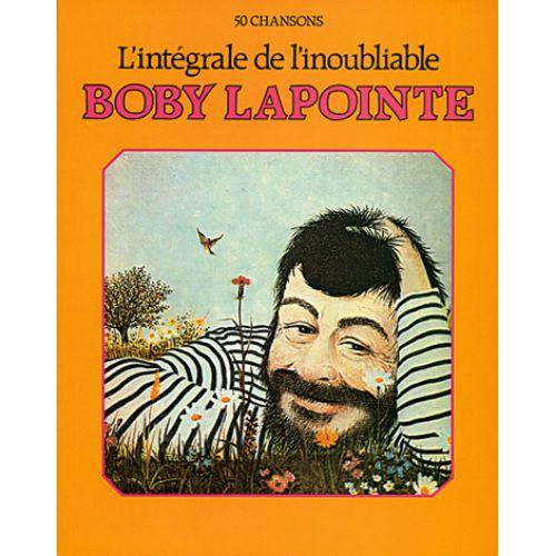 CARISCH LAPOINTE BOBY L'INTEGRALE DE L'INOUBLIABLE - PVG
