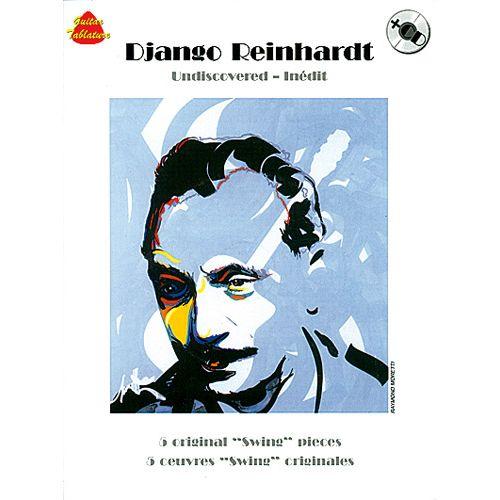 CARISCH REINHARDT DJANGO - UNDISCOVERED + CD - GUITARE TAB