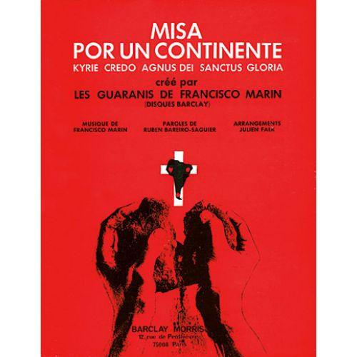 CARISCH MARIN FRANCISCO - MISA POR UN CONTINENTE - CHANT