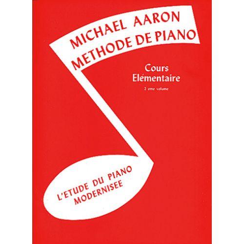 BELWIN AARON - COURS ELEMENTAIRE - VOL.2 - PIANO